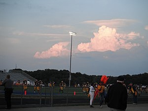 Toms River North's football field