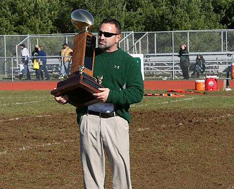Colts Neck High School football coach Greg LaCava