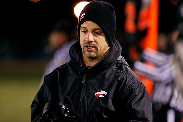Jackson Memorial head coach Walt Krystopik