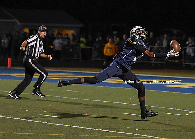 Darrion Carrington and the high-octane Toms River North offense meet Central with the Class A South title on the line (Photo by Heather Laing Photography.)