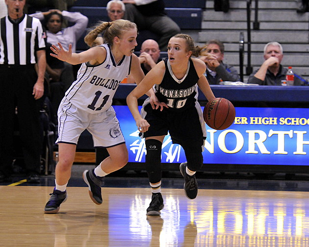 Dara Mabrey andd Manasquan earned the top seed in this year's girls SCT. (Photo by Eric Braun)