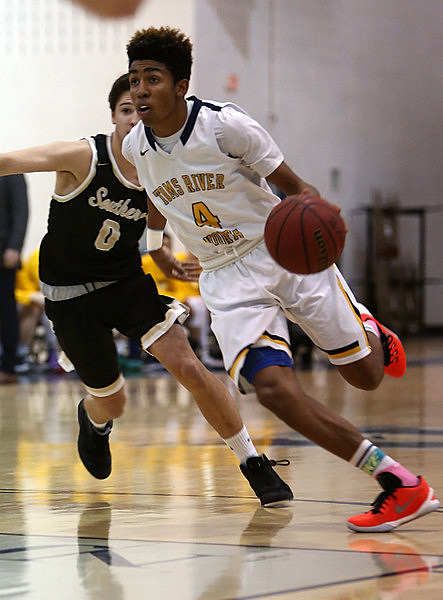 Junior Darrion Carrington and Toms River North remain unbeaten in Class A South play. (Photo by Ray Richardson)