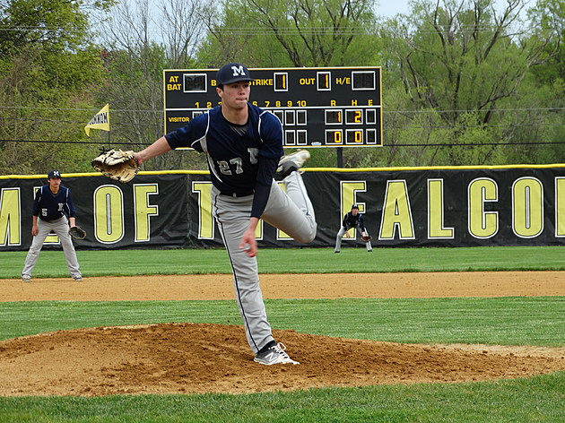 Manasquan ace Tommy Sheehan looks to be one of the state's top pitchers as a senior. (Photo by Matt Manley)