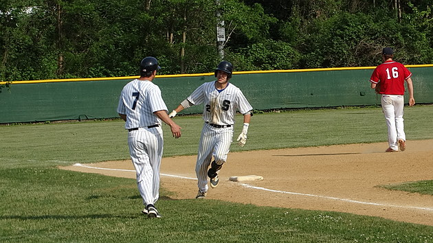 Middletown South senior Johnny Zega enters Wednesday with 10 home runs. (Photo by Matt Manley)
