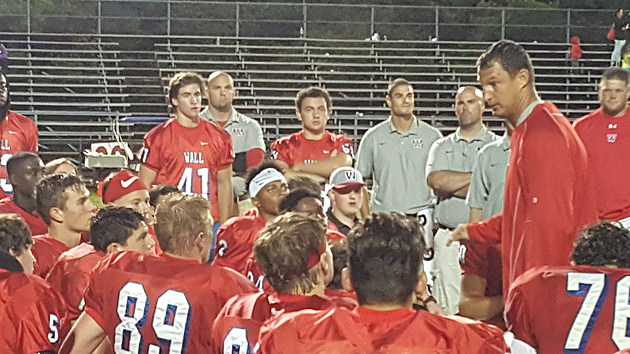 Head coach Dan Curcione has Wall off to its first 2-0 start since 2013 after a 41-6 win over Central.