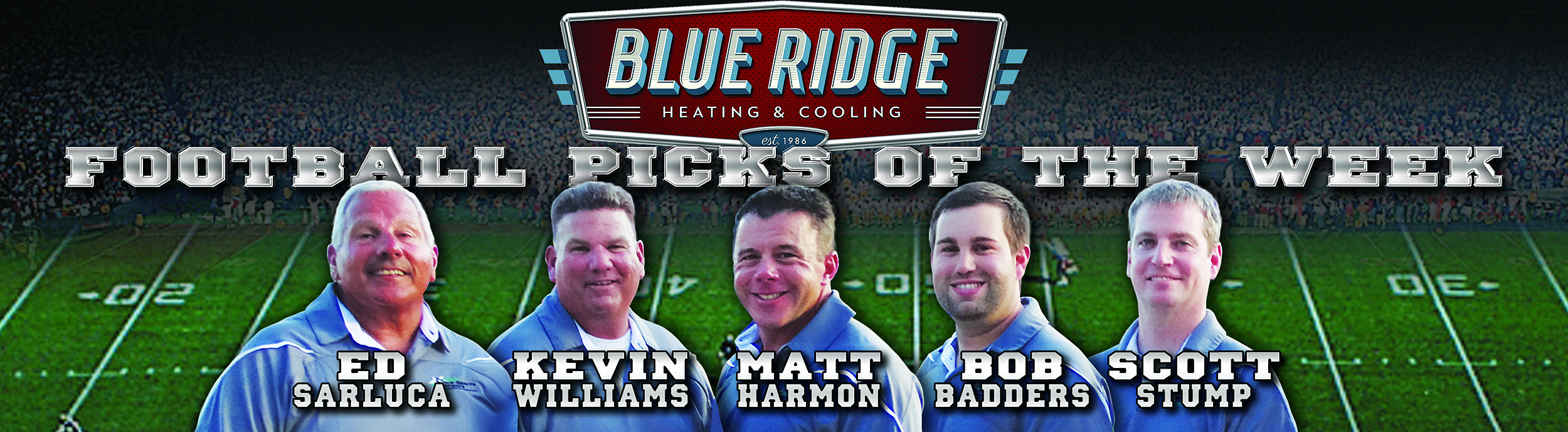 Blue Ridge Picks banner