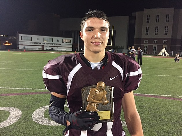 Player of the Game TJ Rockhill, Toms River South