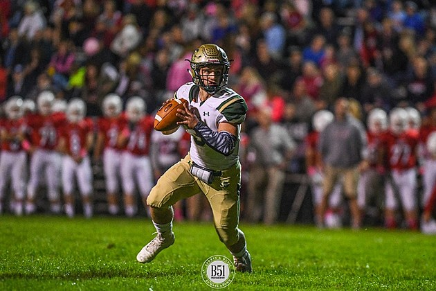 Red Bank Catholic junior quarterback Nick Brusca. (Photo by Mark Brown/B51 Photography).