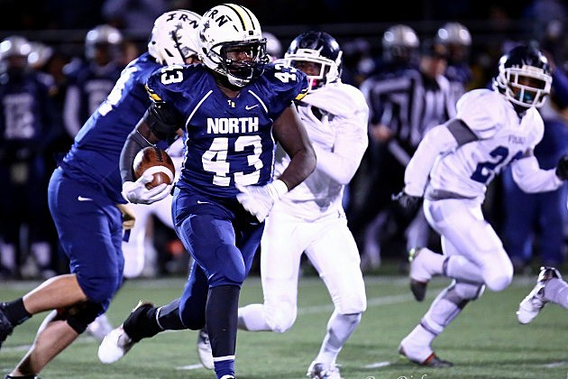 Daryn Blackwell, Toms River North.  Photo by Ray Richardson
