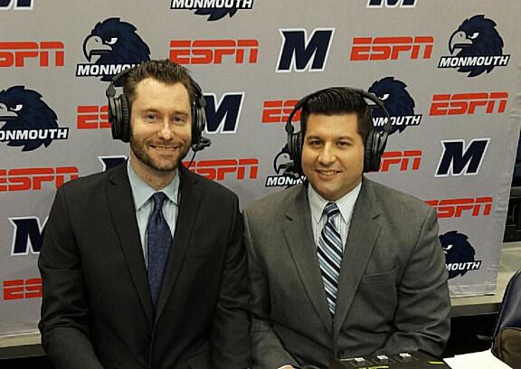 Eddy Occhipinti & Steve Baziz, Monmouth University Basketball