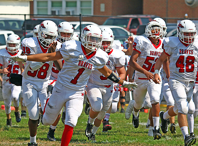 Manalapan has is sights set on the program's second sectional title and first 12-0 season. (Photo by Ray Richardson).