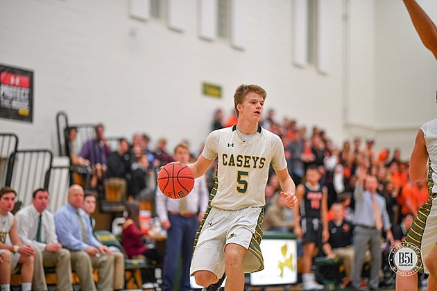 Red Bank Catholic freshman Charlie Gordinier. (Photo by Mark Brown, B51 Photography)