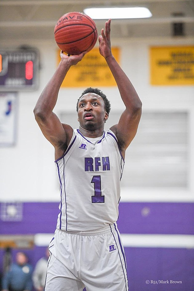 Rumson-Fair Haven junior Elijah McAllister has returned from a torn ACL to become a critical part of one of the Shore's best teams. (Follow @b51photosmarkbrown on Instagram)