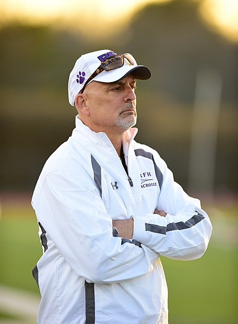 Former Rumson-Fair Haven head coach Andy Eastwood will lead Mater Dei Prep's lacrosse debut in 2017. (Photo by Mark Brown/B51 Photography).