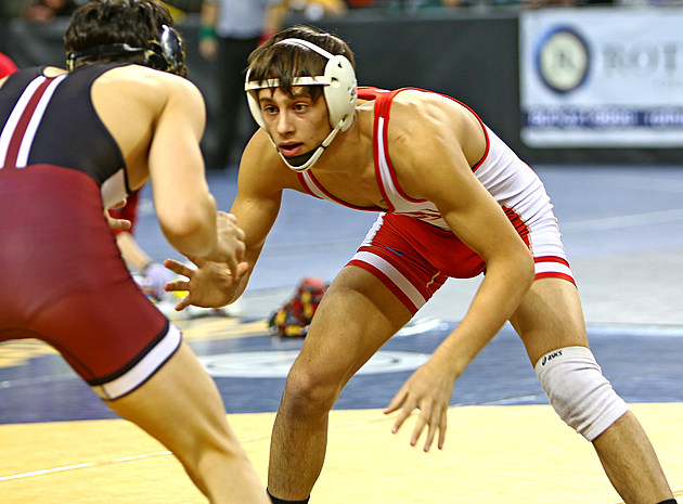 Ocean junior Jake Benner is the Spartans' first state finalist since 2008. (Photo by Ray Richardson).