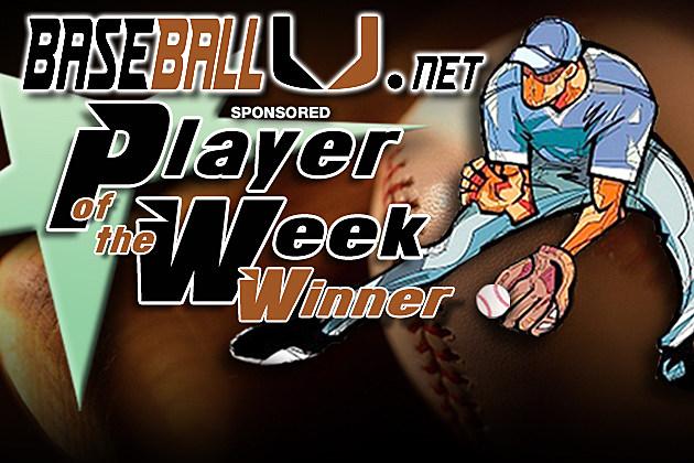 BaseBall U POTW winner