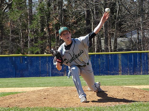 Pinelands sophomore Noah Dean. (Photo by Matt Manley)