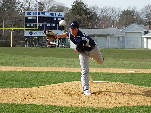Manasquan senior Tommy Sheehan. (Photo by Matt Manley)