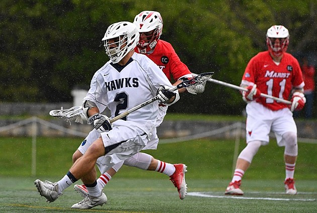 Monmouth University senior midfielder Dan Bloodgood is a former Shore Conference star at Freehold Township High School. (Photo provided by Monmouth University. Photo by B51 Photography/Mark Brown).