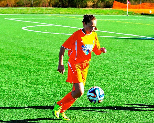 Kate Braun, Picture courtesy of the Garden State Soccer League