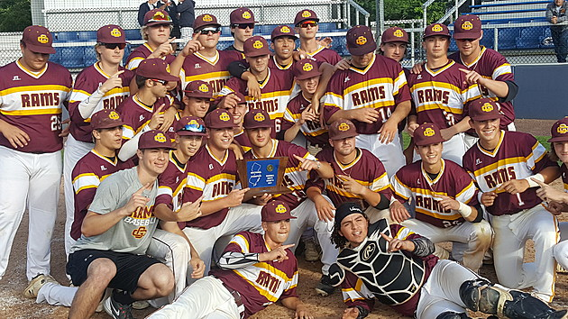 Gloucester Catholic ended a great season by St. Rose to win its first sectional title in four years. (Photo by Scott Stump)