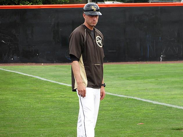 Southern baseball coach Keith Cocuzza. (Photo by Matt Manley)