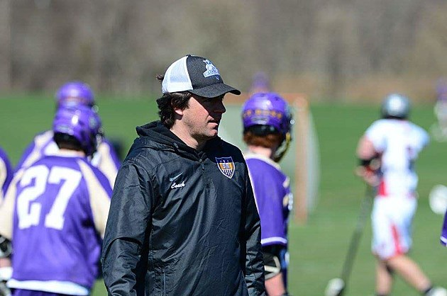 St. Rose's Kevin Preston is the 2017 SSN Boys Lacrosse Coach of the Year. (Photo by Micahel Scotto).