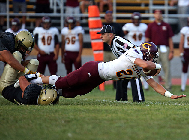 Central running back Mike Bickford (Photo by Ray Richardson).