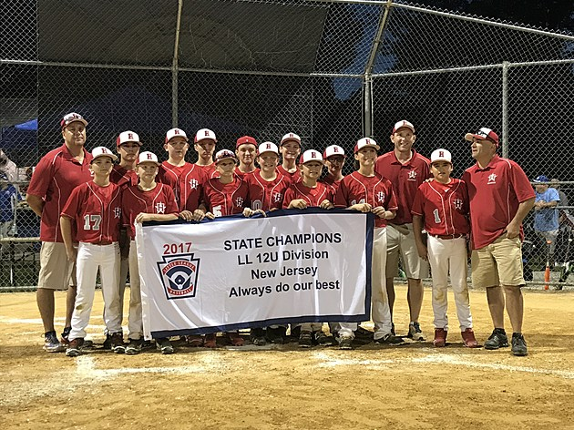 Holbrook Little League defeated Wayne, 10-2, to win the 2017 NJ Little League state championship. (Robert Badders, Townsquare Media.)