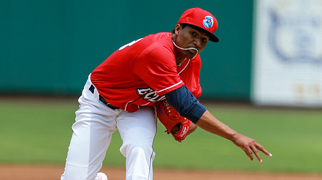 Phillies prospect and current BlueClaws right-hander Sixto Sanchez. (Photo: MILB.com)