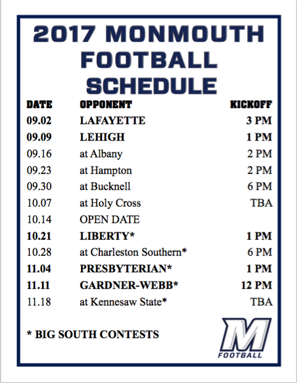 Monmouth University Football Shore Sports Network Page 3