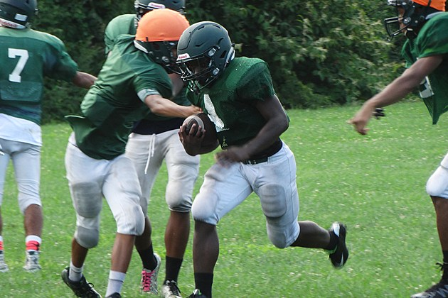 Long Branch sophomore running back Jermaine Corbett. (Photo by Matt Manley)