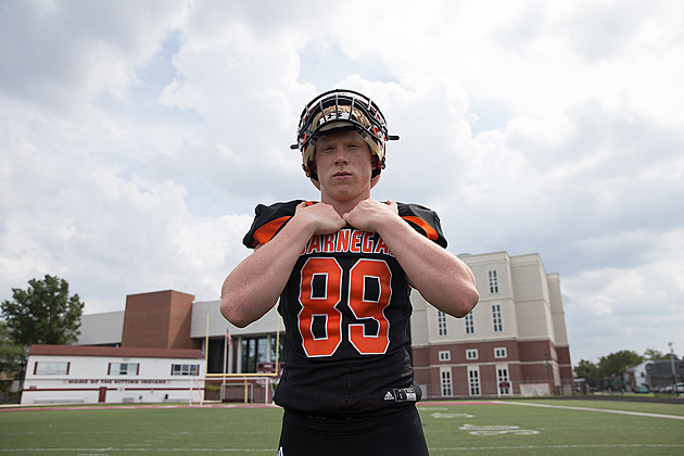 Barnegat junior Sean Morris is the Orthopaedic Institute of Central Jersey Week 1 Player of the Week. (Photo by Paula Lopez).